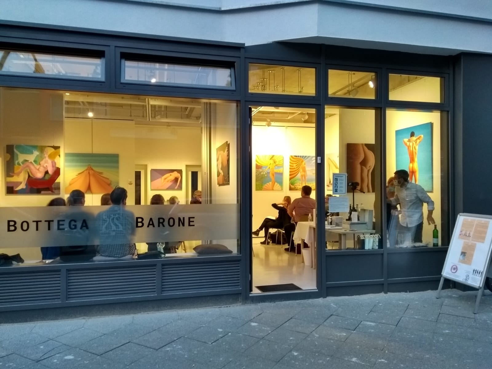 Salongespräche Incontri in der Galerie Bottega Barone