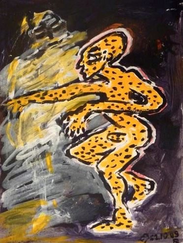 Leopardenmann