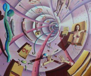 Die Veränderung, FineArtPrint on Canvas, 2020, 60x80